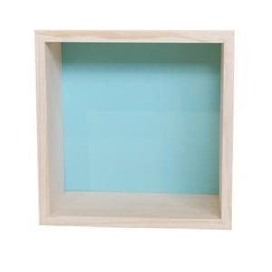 Dekorace Cubo Nordic Aqua L