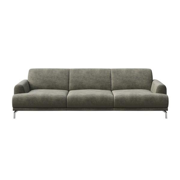 Canapea cu 3 locuri MESONICA Puzo, gri