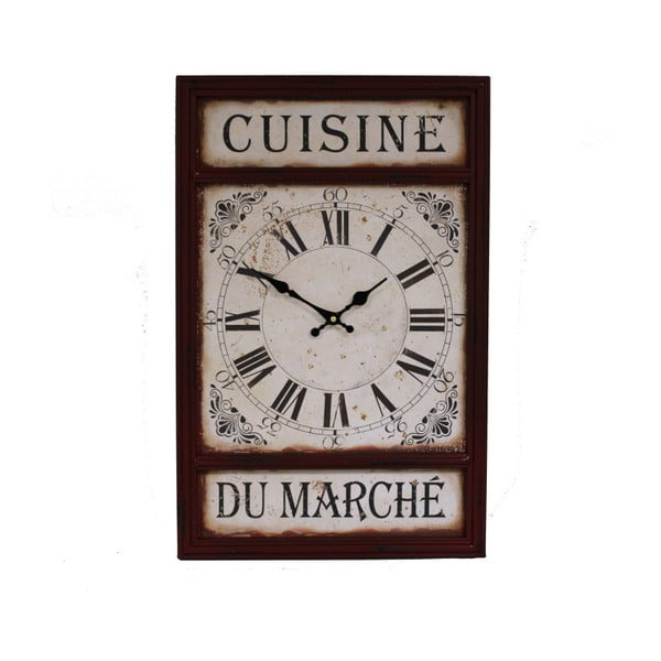 Ceas de perete Antic Line Cuisine Du Marche
