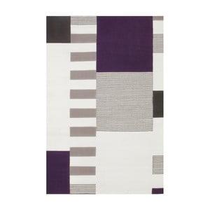 Ručně tkaný vlněný koberec Linie Design Graphic, 140x200cm