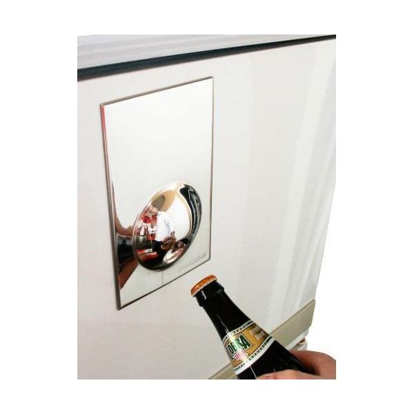 Magnetický otvírák na lednici Suck UK Fridge Magnet, bílý