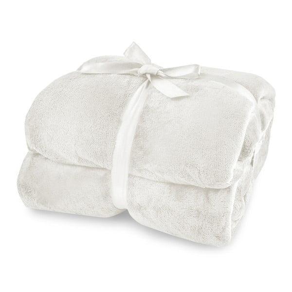 Krémová deka z mikrovlákna DecoKing Mic, 160x210cm
