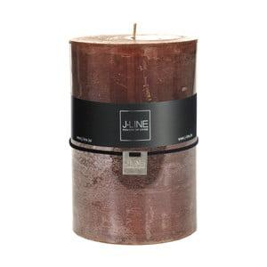 Hnědá svíčka J-Line Brassy, 120 hodin