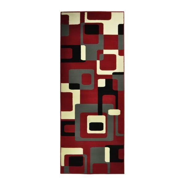 Červený koberec Hanse Home Hamla Retro, 160 x 230 cm