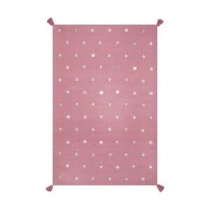 Ručně tkaný růžový koberec Art For Kids Voyage, 110x160cm