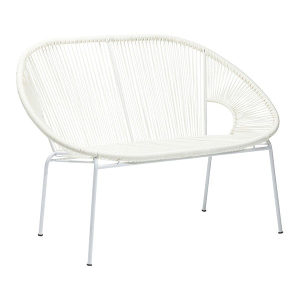 Bílá lavice Kare Design Spaghetti