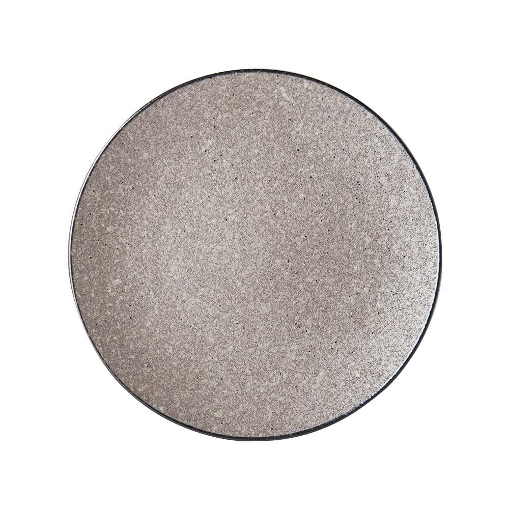 Béžový keramický talíř MIJ Earth,ø29cm