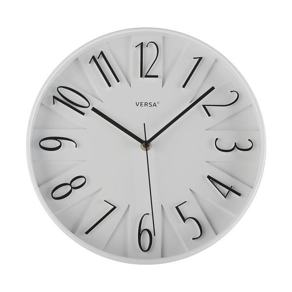 Nástěnné hodiny Reloj Blanco, 30 cm