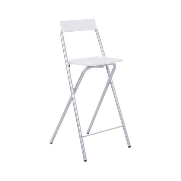 Bílá barová stolička Evergreen House Drink