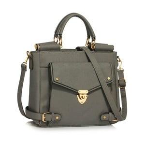 Šedá kabelka z eko kůže L&S Bags Meudon