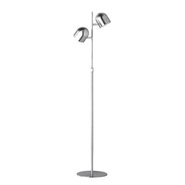 Stojací lampa Quidam Nickel