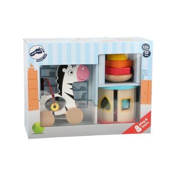 Set jucării motrice din lemn pentru copii Legler Toy de la Legler
