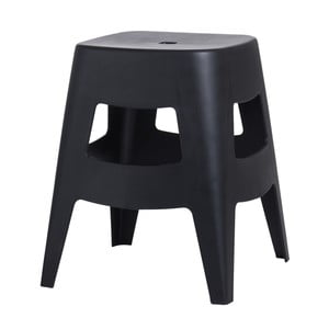 Černá židlička D2 Tower