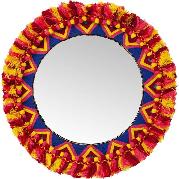 Oglindă de perete Kare Design Flick Flack, Ø 54 cm