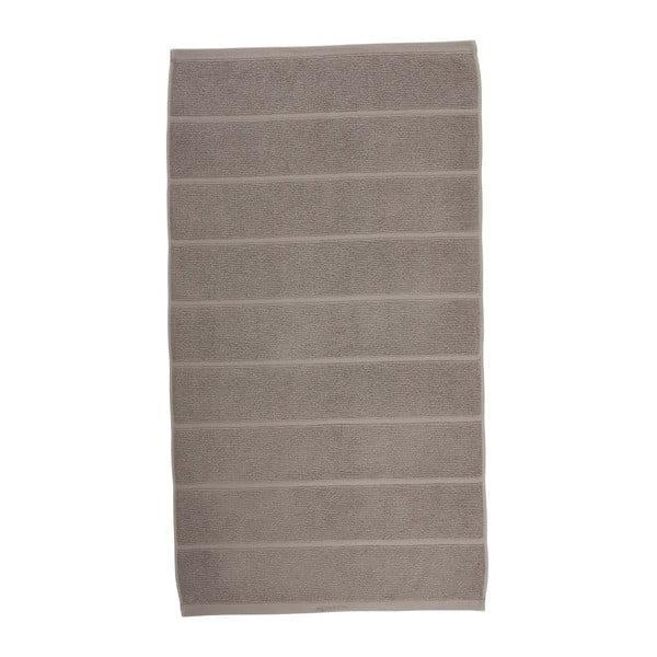 Šedohnědý ručník Aquanova Adagio, 70x130cm