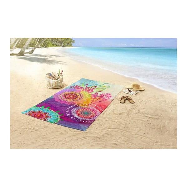 Plážová osuška s potiskem HIP Esplanada, 100 x 180 cm