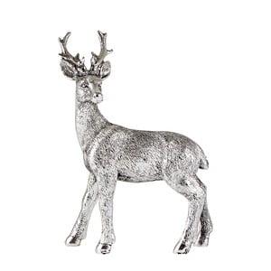 Dekorativní soška ve tvaru jelena KJ Collection, výška 12,5 cm