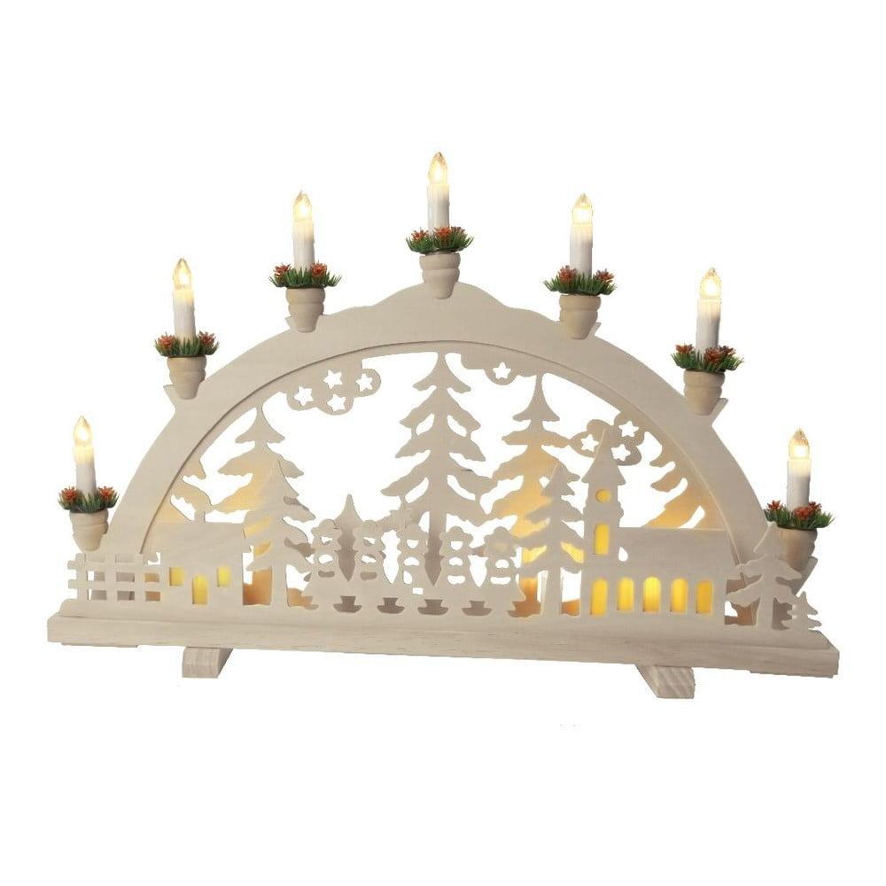 Svítící dekorace Best Season Church in Forest