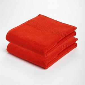 Ručník Romeo, červený, 50x30, 2 ks