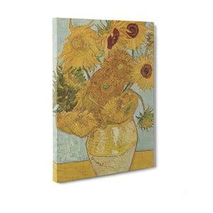 Obraz Sunflowers - Vincent Van Gogh, 50x70 cm
