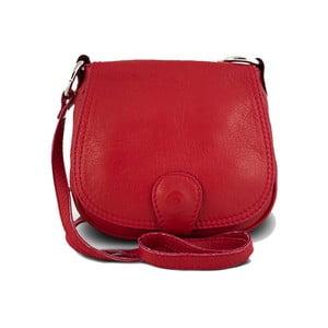 Červená kabelka z pravé kůže GIANRO' Achieve