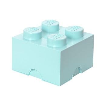 Cutie depozitare LEGO®, albastru deschis imagine