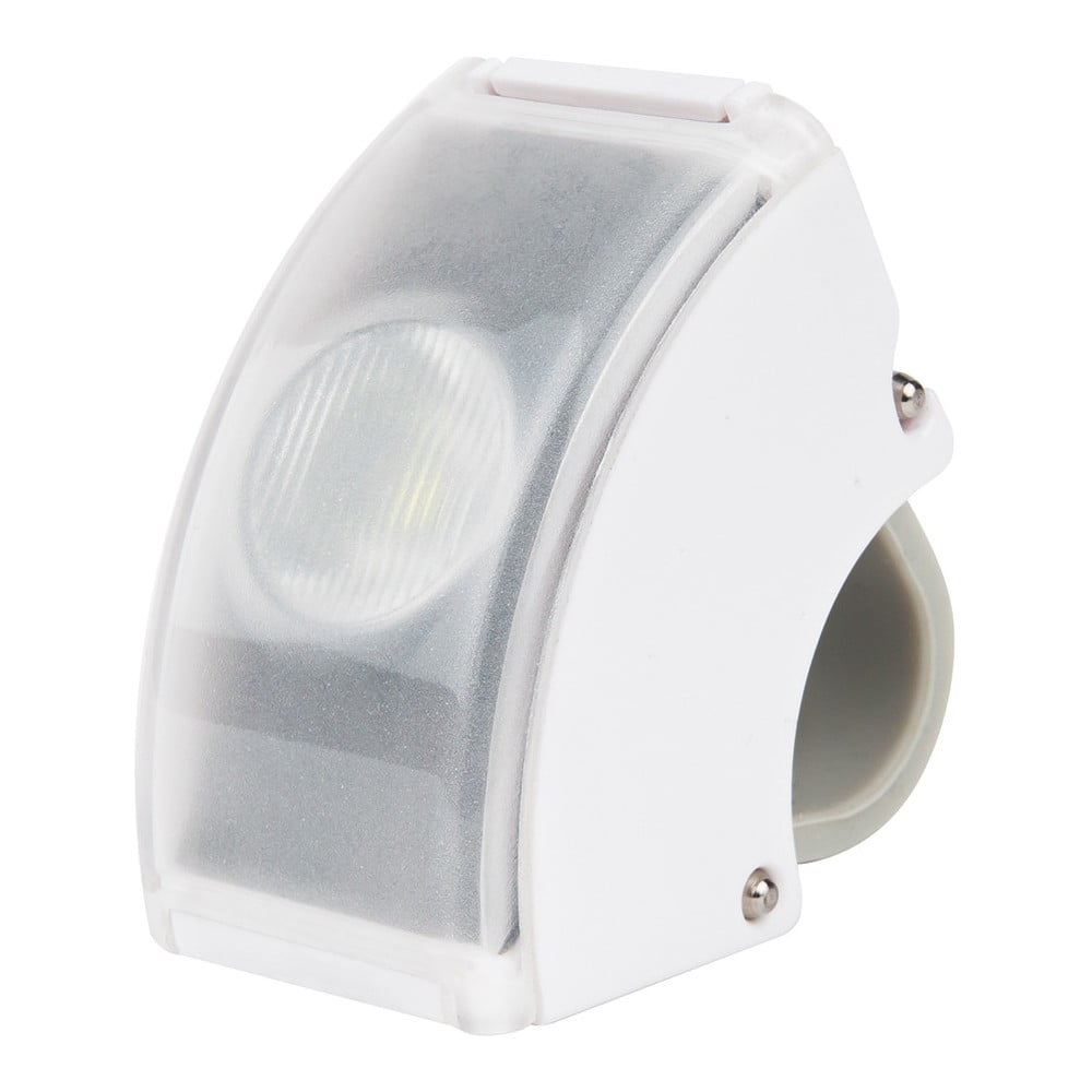 Bílé USB přední světlo Bookman