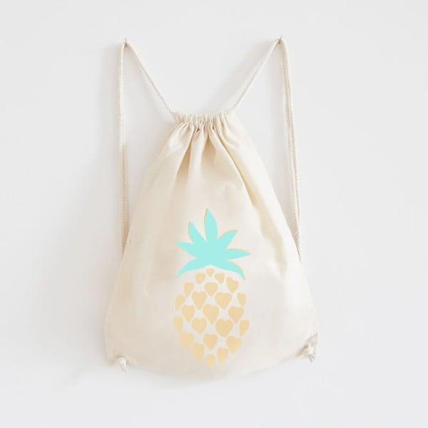 Plátěný batoh Ananas Gold