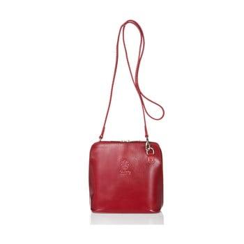 Geantă din piele Giorgio Costa Jacintha, roșu