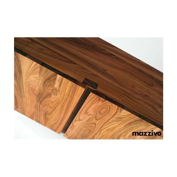 Komoda Mazzivo z olšového dřeva, model 2.2, natural