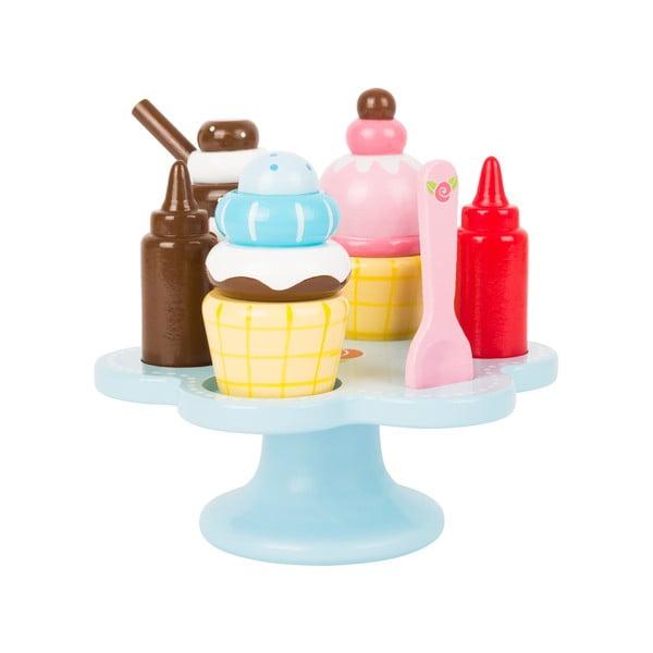 Detský drevený zmrzlinový set Legler Cream Cone