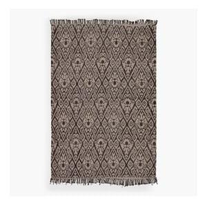 Hnědý koberec Lluvia, 150 x 200 cm