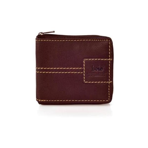 Kožená peněženka Lois Hazel, 10,5x8,5 cm