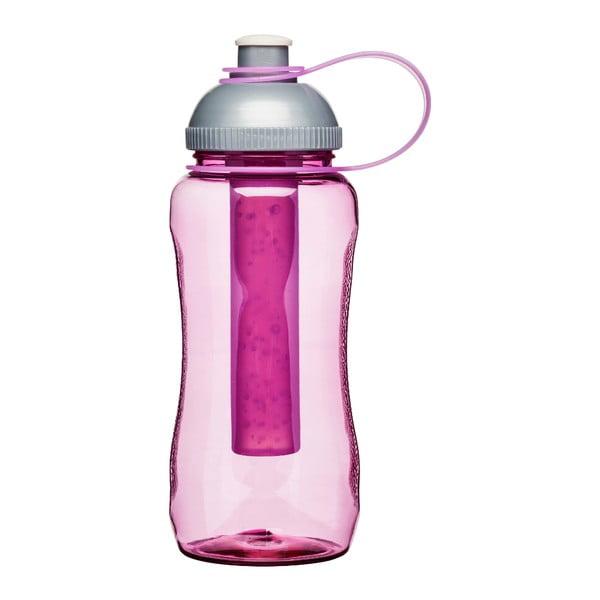 Růžová samochlacící lahev Sagaform