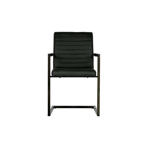 Černá jídelní židle WOOOD Bas