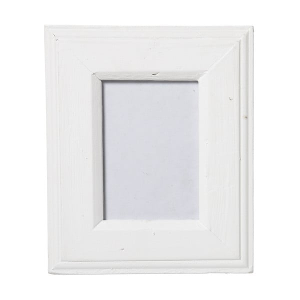 Fotorám Antik bílý, 18x23 cm