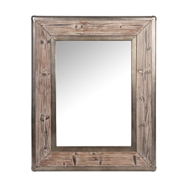 Zrcadlo Alu Brown, 100 cm