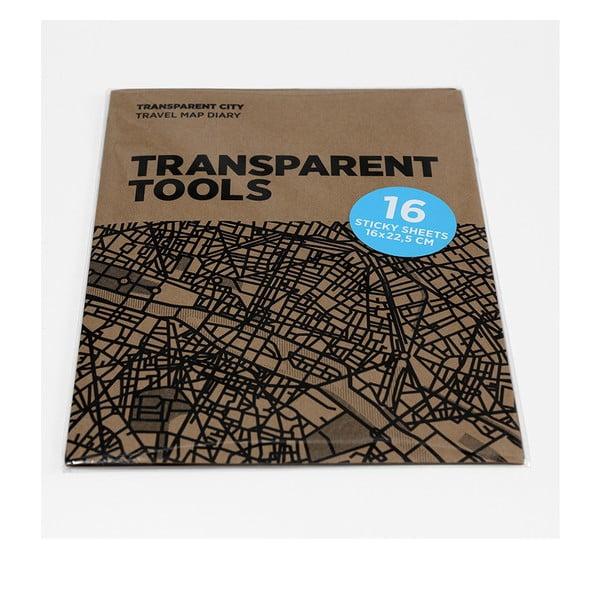 Náhradní průhledné listy pro Transparent City mapy Palomar