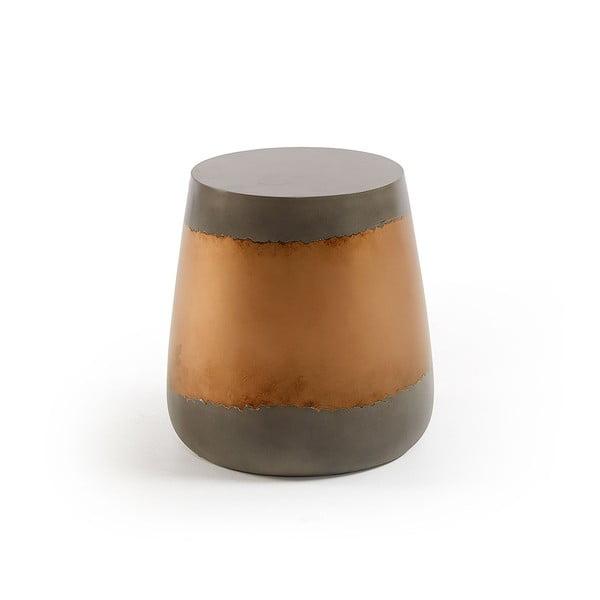 Goldman barna-fekete dohányzóasztal, magassága 39 cm - La Forma