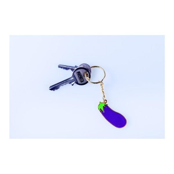 Přívěsek na klíče DOIY Eggplant