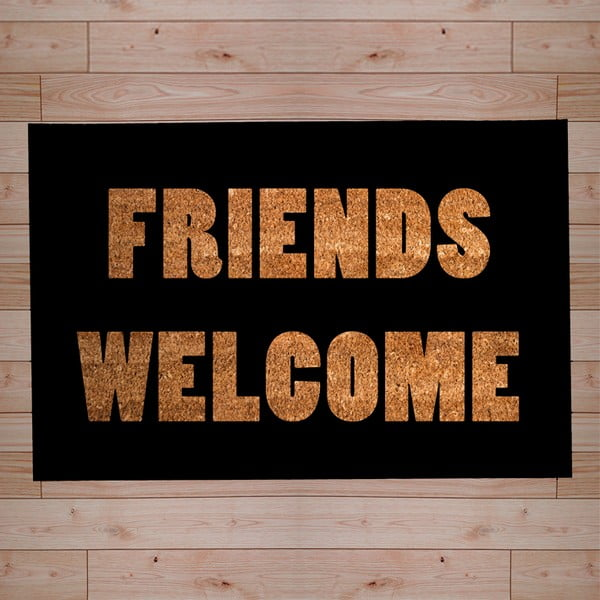 Rohožka Friends Welcome, 40x60 cm