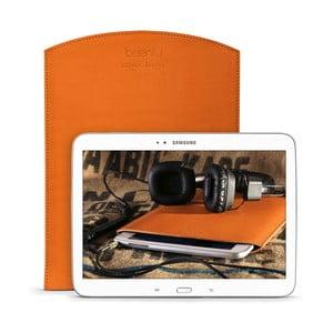 Kožený obal na tablet Samsung Galaxy 10.1 (Tab 3, 4 / Note) Cognac
