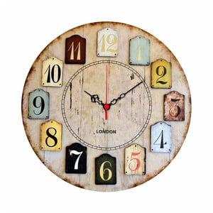 Nástěnné hodiny Norberto, ø 40 cm
