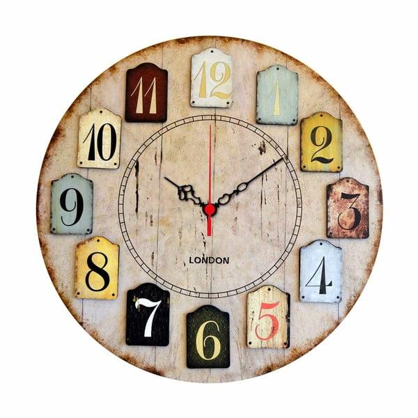 Ceas pentru perete Norberto, ø 40 cm