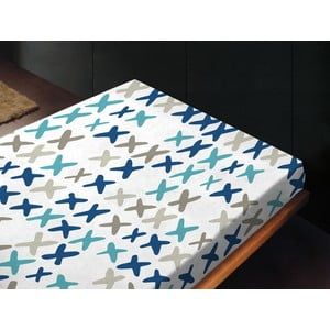 Prostěradlo IXC Azul, 180x260 cm