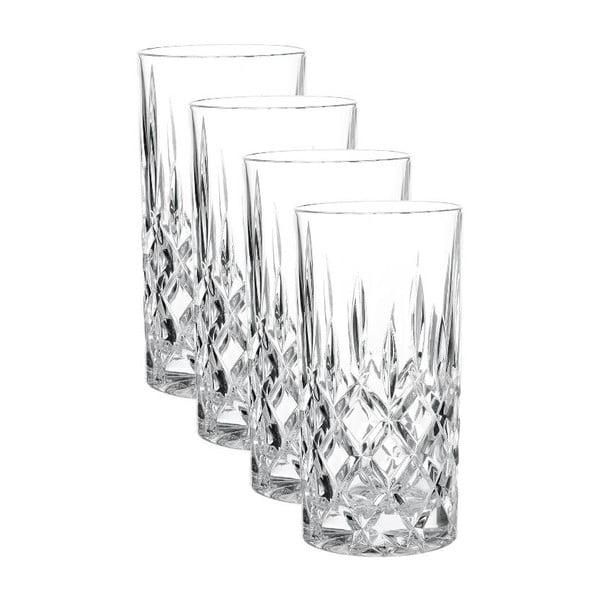Sada 4 pohárov z krištáľového skla Nachtmann Noblesse, 375 ml