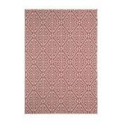 Červený koberec Nourison Baja Apuri, 170 x 119 cm