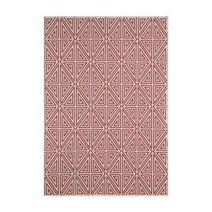 Červený koberec Nourison Baja Apuri, 290 x 201 cm