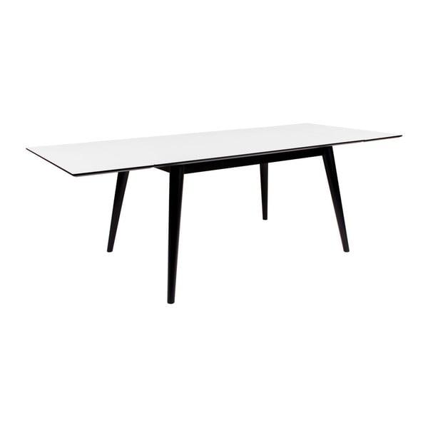 Rozkládací jídelní stůl s černými nohami House Nordic Copenhagen, 150 cm