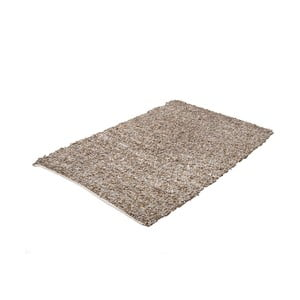 Koberec Leather Catwalk Beige, 140x200 cm